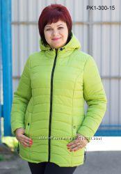Курточка на холодную осень, теплую зиму разные цвета 52-62 рр.