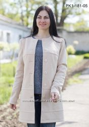 Пальто кашемир разные цвета 42-54 рр.
