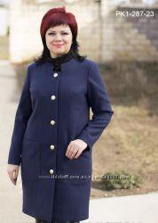Пальто кашемир деми разные цвета 48-58 рр.