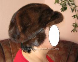 продам шапку норковую женскую бу