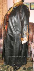 Продам женское плащ-пальто кожаное