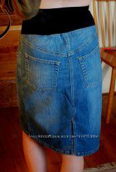 Джинсовая юбка для беременных H&M MAMA