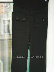 брюки для беременны в клетку р-р 44