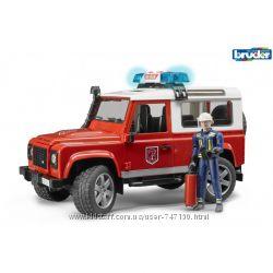 Джип   Land Rover с пожарным