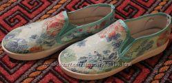 Текстильные макасины. Р. 38