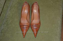 Новые кожаные женские туфли Австрия 37 р-р