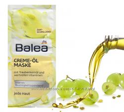 Акция Крем-маска для лица с маслом виноградных косточек Balea 2x8ml