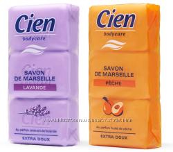 Марсельское мыло Cien 3x100g Персик