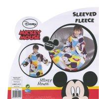 Детский флисовый плед с рукавами с Микки Маусом, Дисней