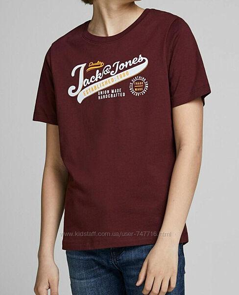 Качественная детская футболка хлопок Jack & Jones