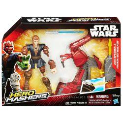 Star Wars Лихачи Звездных войн джедай Энакин Скайвокер со спидером Hasbro.