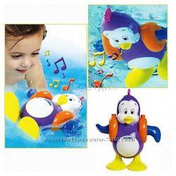 Забавный поющий пингвин Tomy TOMY Томи для игры в ванной.