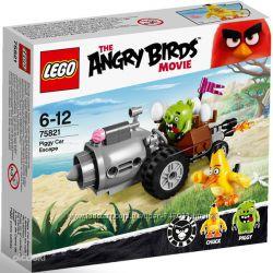 Конструктор Lego Angry Birds Побег из машины Свинок .