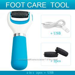 Электрическая роликовая пилка Scholl  2 ролика-Хороший подарок USB
