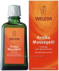 Массажное масло с Арникой WELEDA Arnika