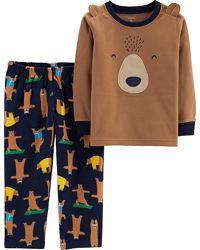 Пижама флисовая для мальчика Картерс рр.2Т,4Т,5Т