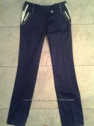 Коттоновые брюки размер 34