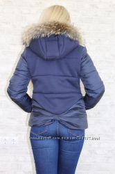 Куртка зимняя ботал нат. мех