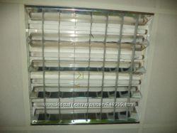 Светильники растровые для подвесного потолка в комплекте в ассортименте