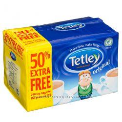Настоящий английский чай Tetley под заказ
