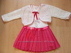 Платье с горжеточкой, Турция 1, 5-4 года