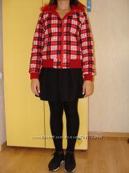 Куртка красная двухсторонняя