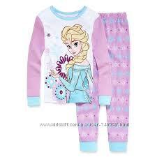 Улюблений Дісней - піжамки бавовна для дівчаток від 12 міс до 6 років