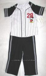 Человечки, комплекти, шорти, кепка від Disney, Gymboree на 6-12, 12-18 міс