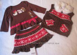 Веселі комплекти, платтячко від Gymboree - дівчинка 3-6 міс