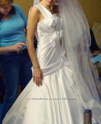Дизайнерское свадебное платья от Оксаны Мухи