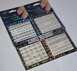 Слайдер дизайн для ногтей в упаковках. Огромный выбор