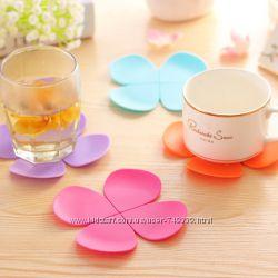 Подставки под чашку Цветок и Лепесток