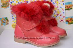 Распродажа Ботинки зимние на девочку 17, 5 см Шалунишка Ортопед
