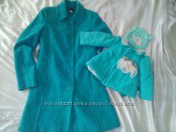 Модное пальто для мамы и дочки