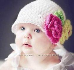 Тёпленькие шапочки ручной работы для Ваших деток