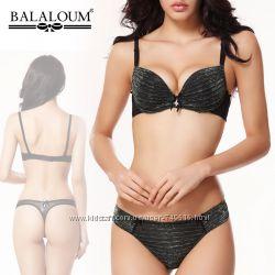 Шикарный комплект Balaloum с люрексом по доступной цене, чашка В, С