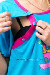 Халаты, сорочки, пижамы для беременных. Нижнее бельё DONELLA для всей семьи