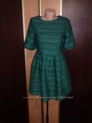 Платье CI home зеленое плотное