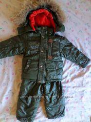 Зимний комбинезон для мальчика фирмы ARISTA на рост 86см -92см