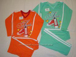 Спортивный костюм для девочки с р. 110-116-122. В наличии