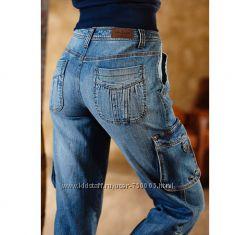 НОВЫЕ Стиляжные женские джинсы плотного качества с р. 46-48.