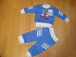 Новый костюмчик для малыша с р. 68, 74, 80 в подарочной коробке