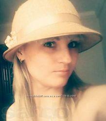 Женская шляпка с бантиком