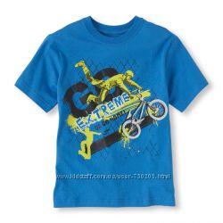 Классные футболки США для мальчиков 5-12 лет