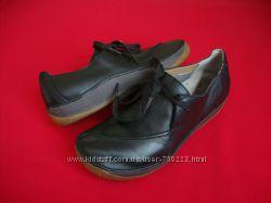 Туфли мокасины Clarks натур кожа 39-40 размер