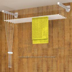 Сушилка для белья настенно-потолочная Флорис 1, 6 м