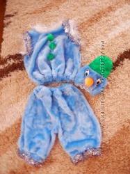 Продам костюмчик снеговичка недорого