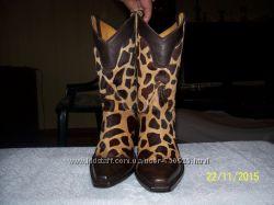 сапожки OLD GRINGO кожа жирафа