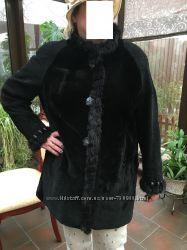новое меховое пальто натурал