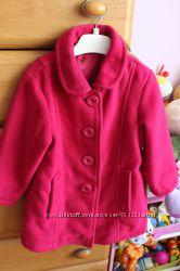 Пальто Next для маленькой модницы 12-18міс